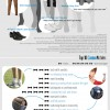Guía de moda masculina, aprende a vestir. #infografia #infographic #moda