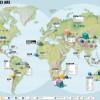 Procedencia de los minerales a nivel mundial. #infografia #minerales