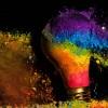 High Speed Photos of Exploding Light Bulbs #photography #design