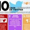 10 usos alternativos de Twitter.