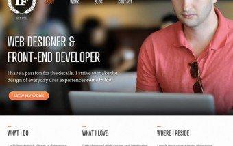 Páginas web tipográficas. #diseño #inspiracion #web