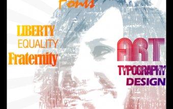 Creating a typographic design #diseño #tutorial #design