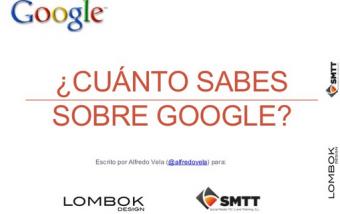 Guía sobre ¿Cuánto sabes sobre Google? #socialmedia #google