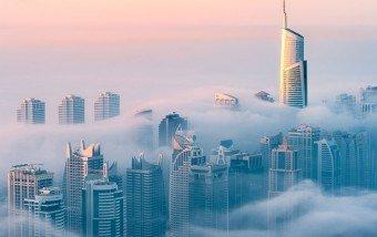 Dubai fotografiado desde la planta 85 #fotografia #arquitectura #Dubai