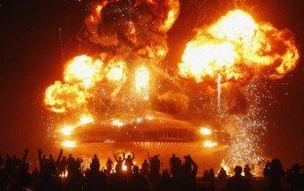 Burning Man, el festival de arte y expresión corporal.