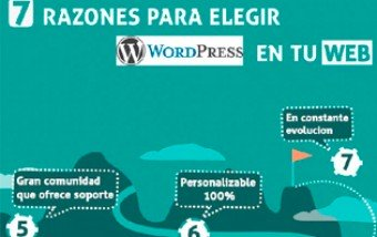 7 razones para elegir WordPress en tu web