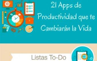 21 aplicaciones que os ayudarán a ser más productivos.