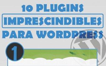 10 Plugins imprescindibles para WordPress.