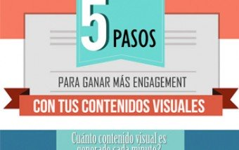 5 pasos para generar más engagement con contenidos visuales.