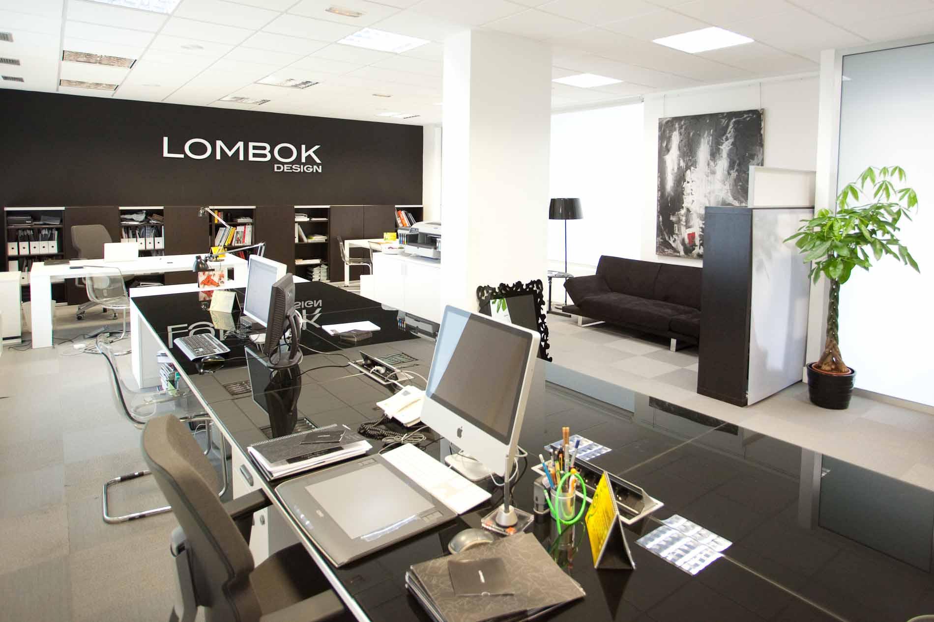 Dise o oficina lombok design design arquitectura for Diseno de interiores oficinas modernas
