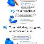 10 Cosas que deberías dejar de twittear #humor #twitter #infografia