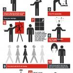 Qué hacer cuando no tienes Internet #infografia #infographic #internet #humor #tecnologia