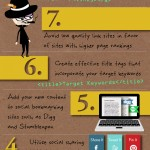 10 maneras de mejorar tu SEO #infografia #infographic #seo #marketing