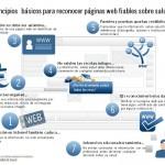 7 consejos para identificar webs fiables sobre salud #infografia #infographic #internet #health