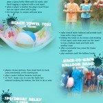 Actividades acuáticas para el verano #infografia #infographic #deporte #verano