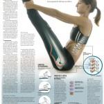 Yoga para la ciática #infografia #infographic #health #salud