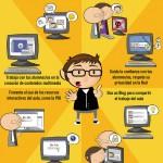 Las TIC en el aula #infografia #infographic #education #formacion