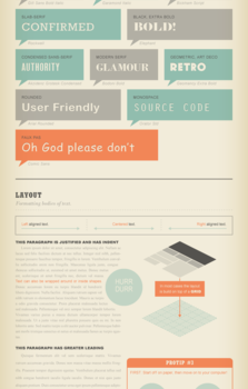 Guia para reconocer tipografías #infografia #infographic #tutorial