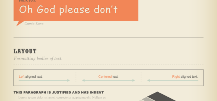 Simple guide to recognize typographics #infografia #infographic #typography