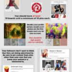 Cómo crear un perfil perfecto para Pinterest #infografia #socialmedia