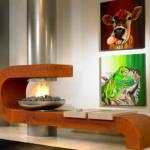 Fogones de diseño contemporáneo. #interiorismo #inspiracion