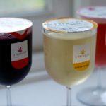 Copas de vino para llevar. #vino #design