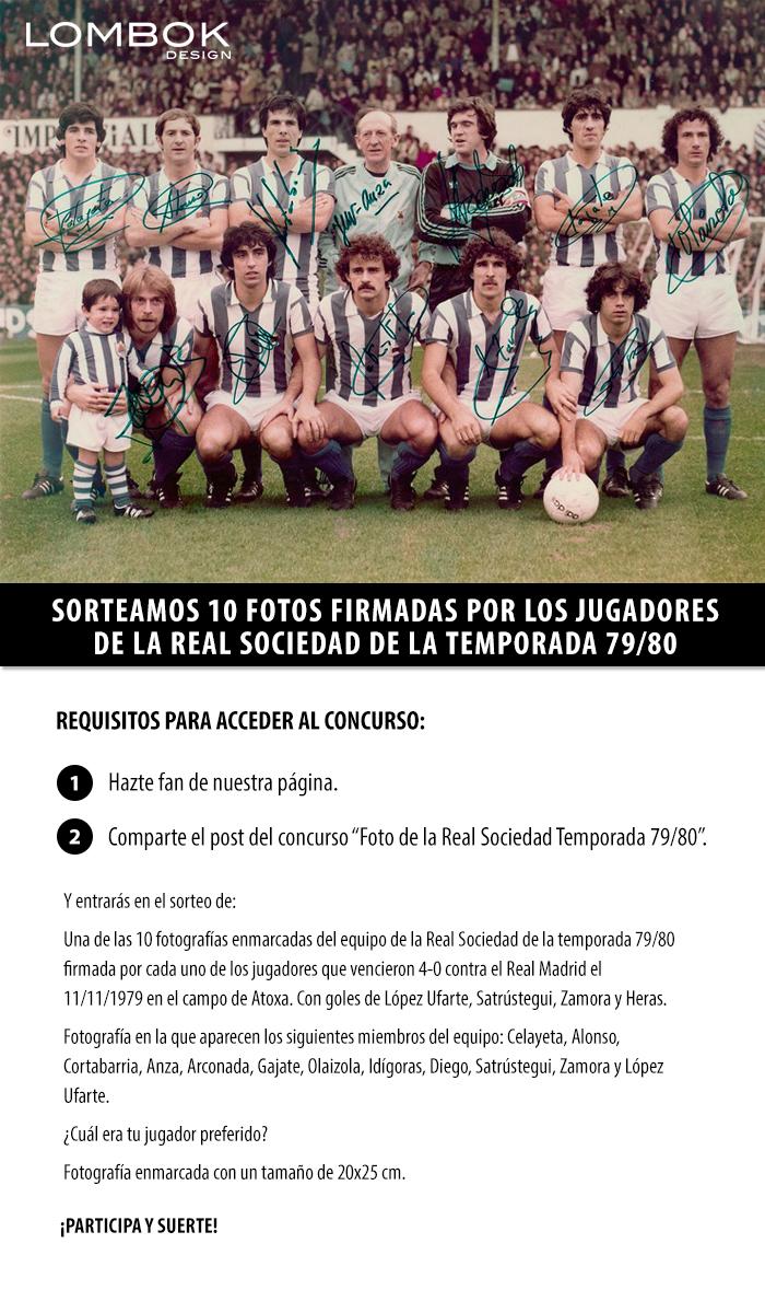 Real Sociedad Concurso Facebook