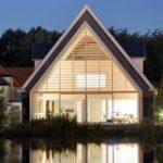 Una iglesia de Rotterdam reconvertida en casa unifamiliar #arquitectura #design