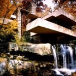 La casa de la Cascada por Frank Lloyd Wright #design #arquitectura