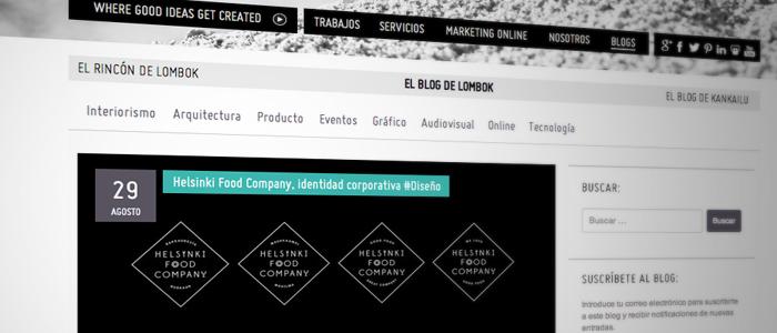 Nuevo diseño y nuevo blog en Lombok Design.