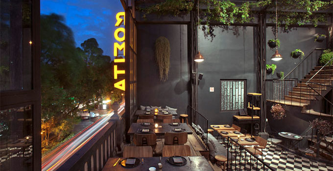 Romita Comedor in Mexico City #design #architecture #photography