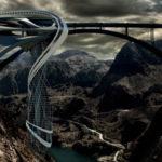 Vertical Strip, un Casino colgado de una presa #arquitectura #design