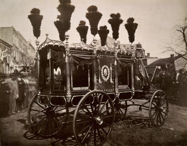 El carruaje de Abraham Lincoln 1865
