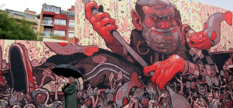 ARYZ, el mayor talento del arte urbano español.