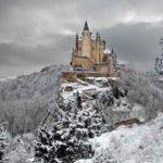Colección de los castillos más bellos en época invernal