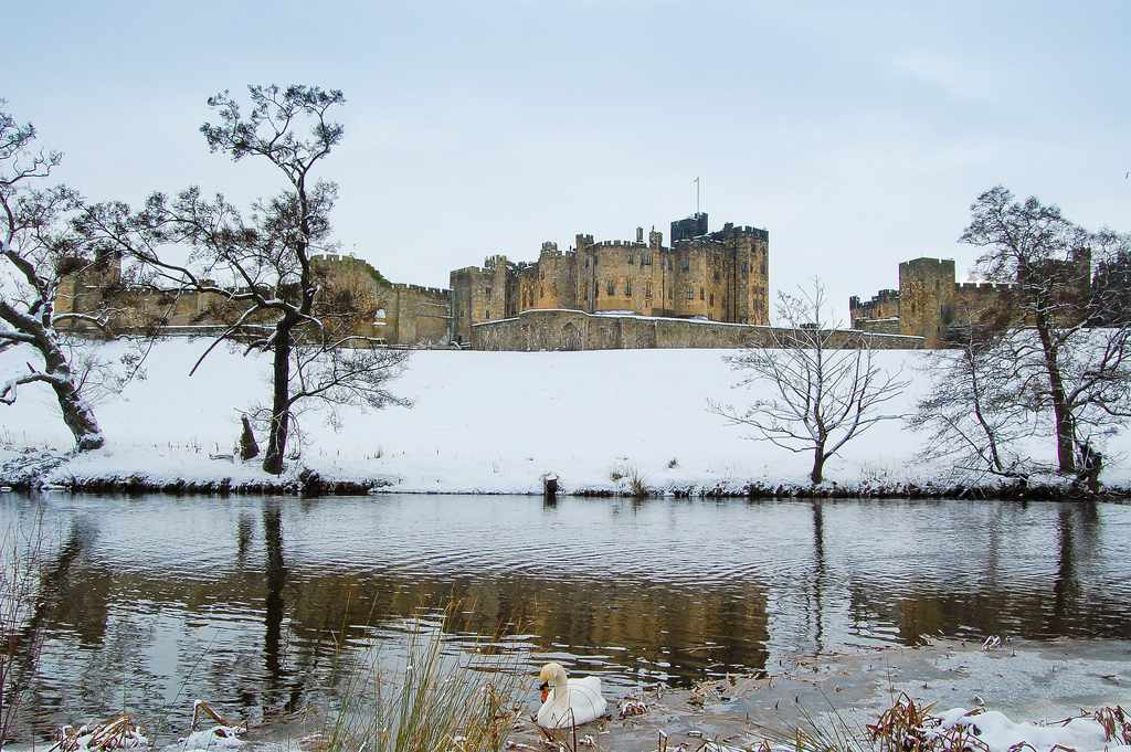 Castillo Alnwick, Northumberland