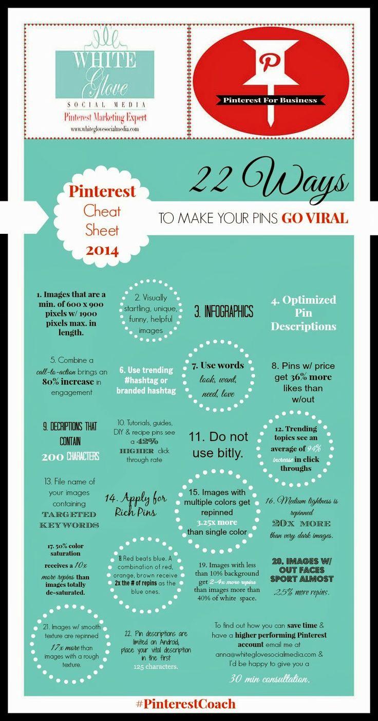 22 formas de conseguir viralidad en Pinterest