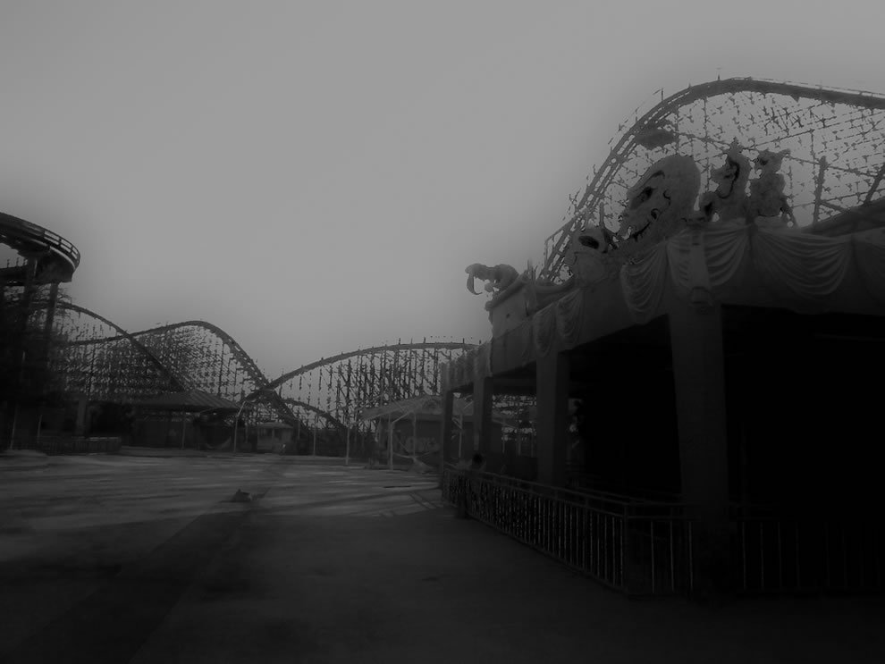 Blog de Lombok: Six Flags abandonado