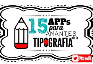 15 aplicaciones para amantes de la tipografía