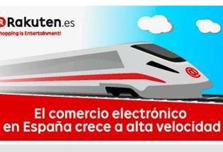 El comercio electrónico en España crece a alta velocidad.