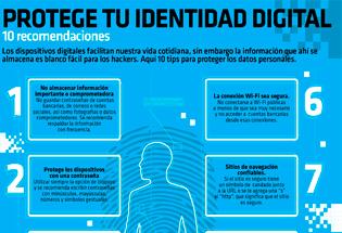 Protege tu identidad digital.