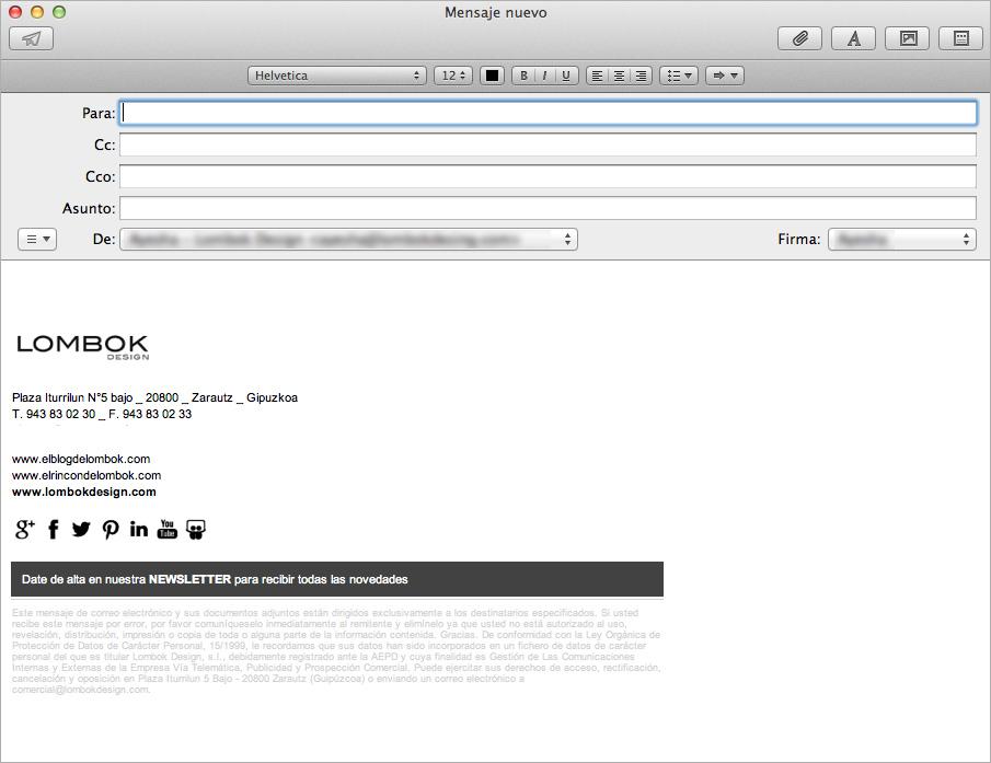 firma email lombok design