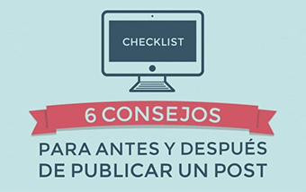 6 Consejos para consultar antes de publicar un post