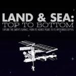 Tierra y mar: desde lo más alto a lo más profundo