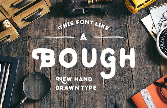 bough-free-font