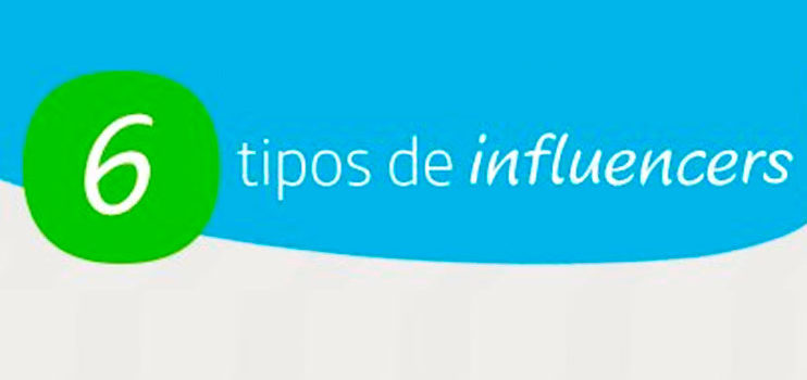 Los seis tipos de influencers