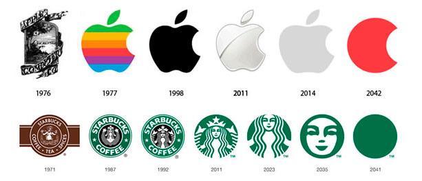Los colores del logotipo.