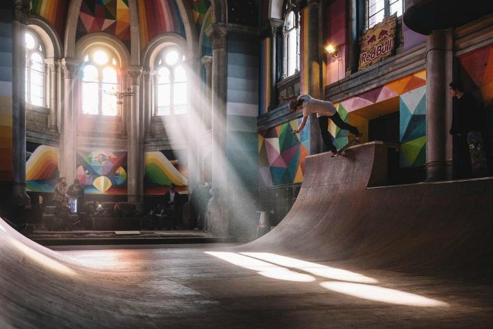 Kaos Temple, La Iglesia Skate