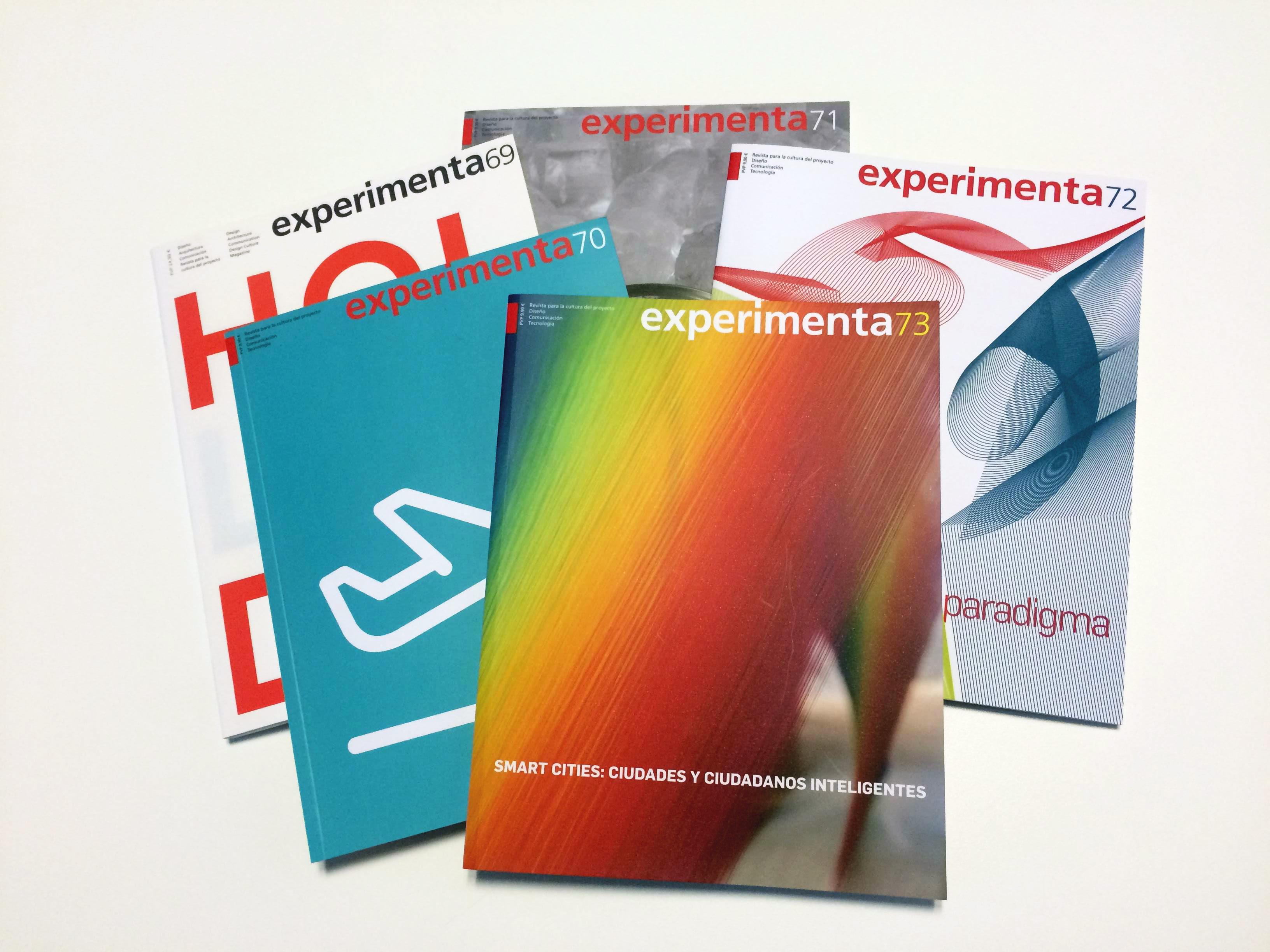 Últimas publicaciones de la revista Experimenta.