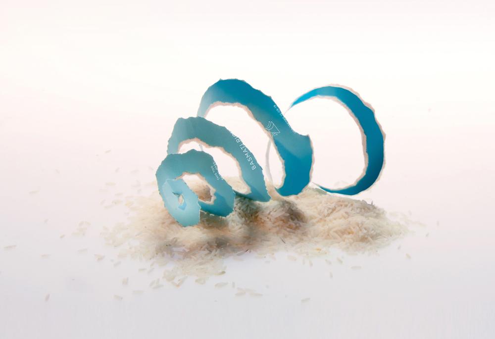 Envase de arroz 100% biodegradable